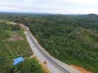 Jalan Akses menuju PLBN Entikong