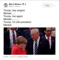 Pertemuan Orang Paling Berkuasa Dunia Jadi Bahan Meme