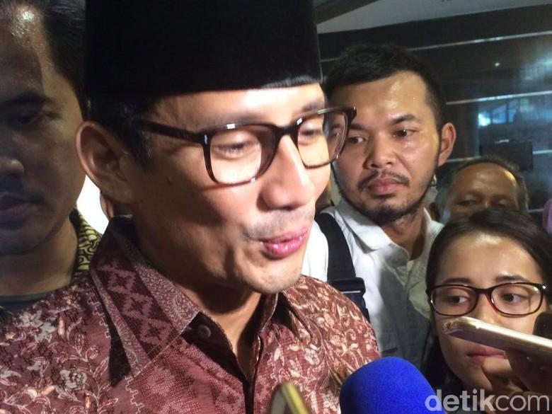 Sandiaga Heran RAPBD DKI 2018 Cuma Rp 76 Triliun