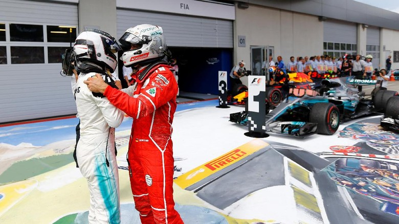 Bottas Menang di Austria, Vettel Perlebar Jarak dengan Hamilton