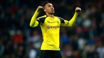 Hitzfeld: Aubameyang Tidak Tergantikan di Dortmund