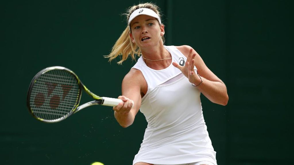 Jadi Jelek, Begini Ekspresi Aneh Petenis Cantik di Wimbledon