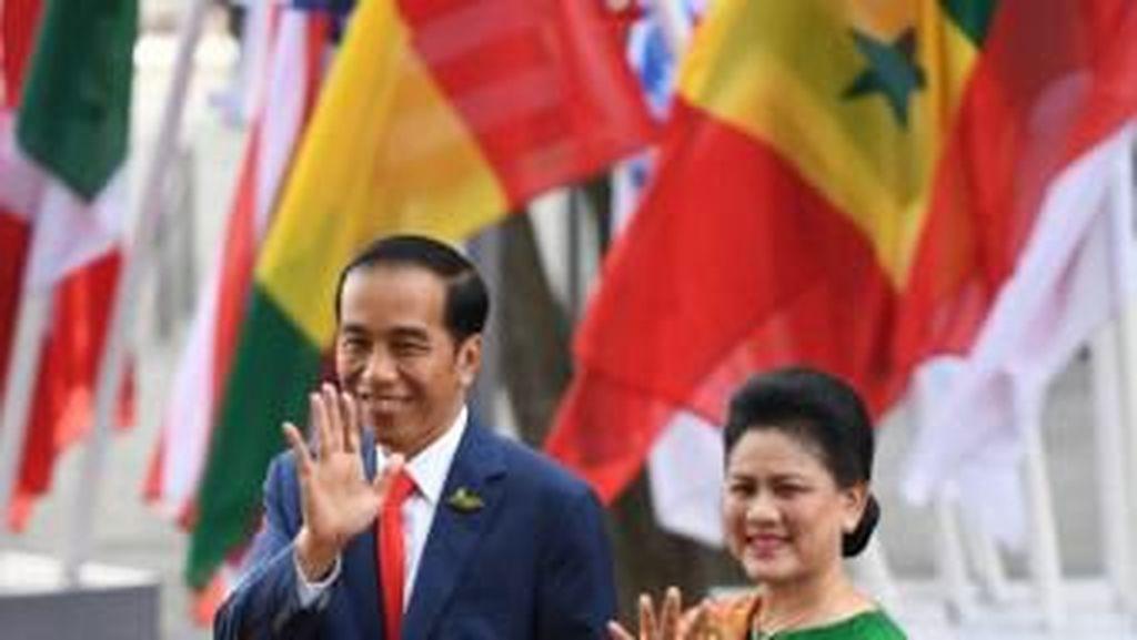 Selamat Ultah Ibu Iriana Jokowi, Lihat Lagi 7 Gaya Kebaya Terbaiknya