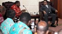 Bupati Manokwari Temui Ketua DPD