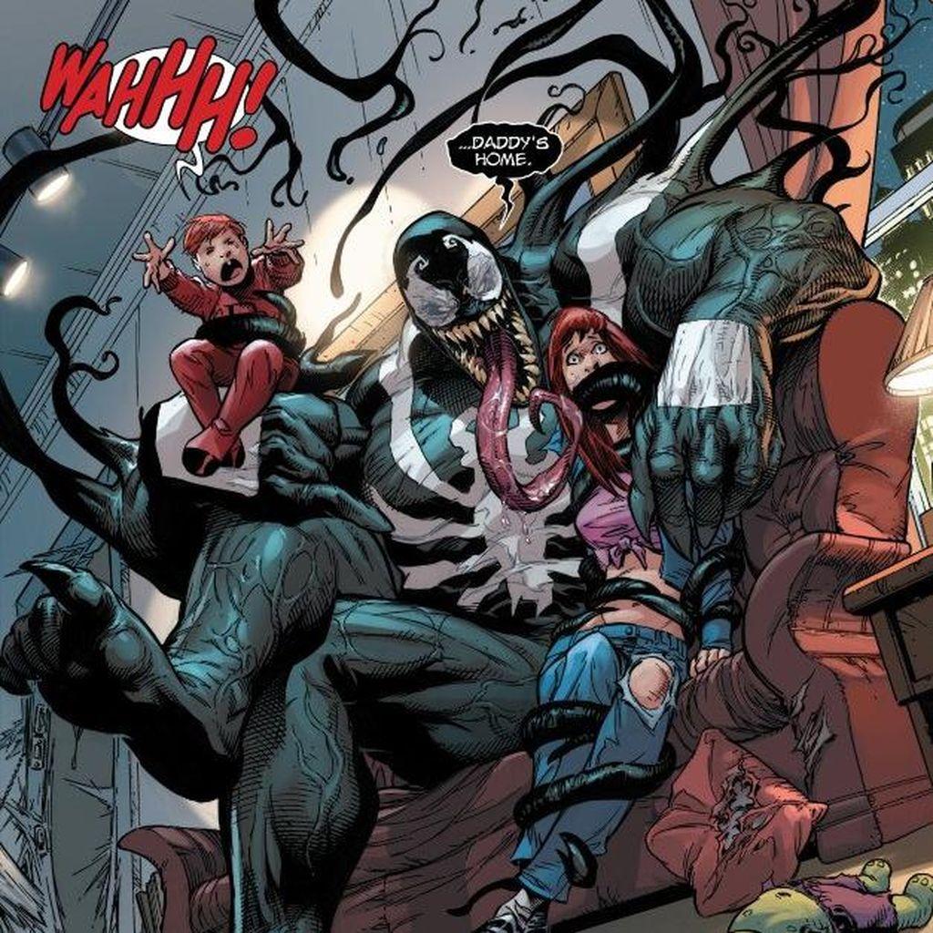 Ini Cerita Asal Venom di Layar Lebar