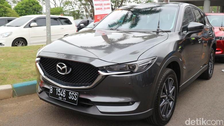 Mazda CX-5 Terbaru Mengaspal di Jalanan Indonesia