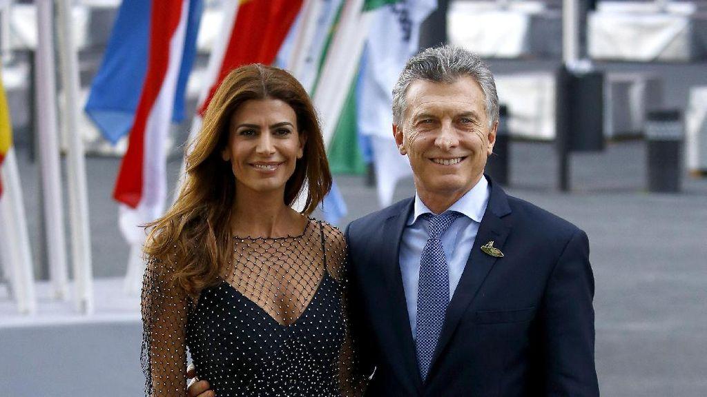 Foto: Pesona Juliana Awada, Ibu Negara Argentina Keturunan Suriah