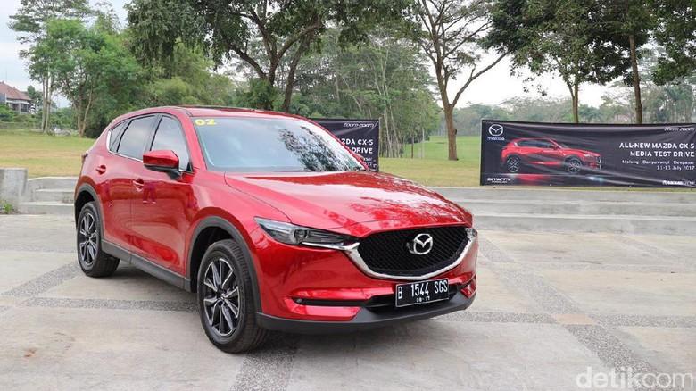 Mazda CX-5 Pakai Mesin yang Sama Tapi Sekarang Lebih Bertenaga