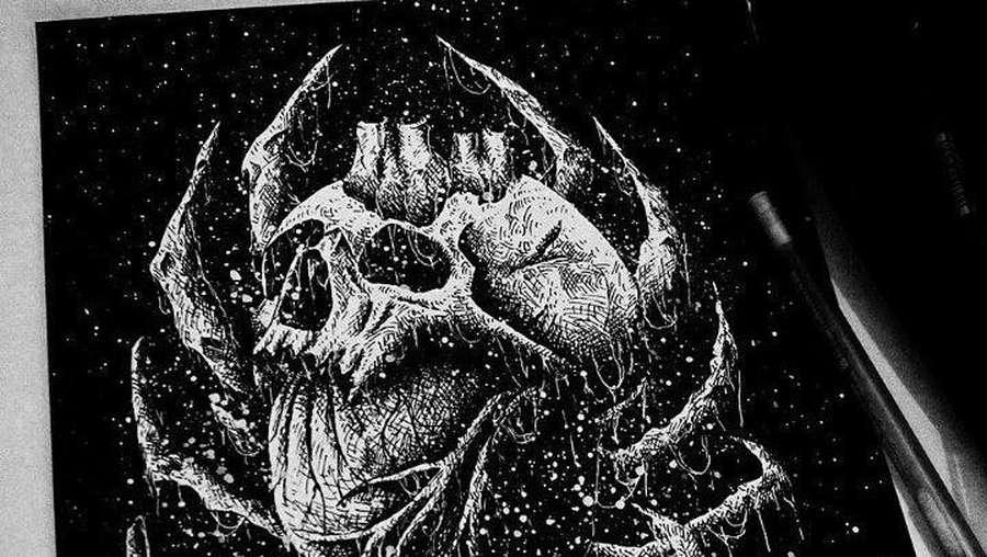 Spooky.. Lihat Ilustrasi Radwork Bikin Merinding!