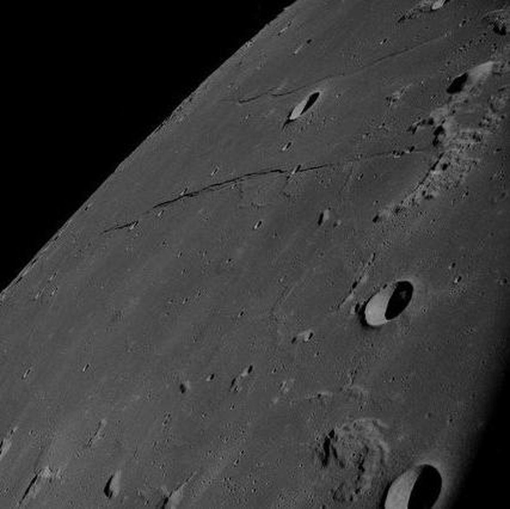 AI Bisa Dipakai Cari Kawah di Bulan