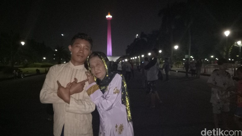Ajak Rohaya ke Monas, Selamet: Janji Aku ke Bunda Sudah Tuntas