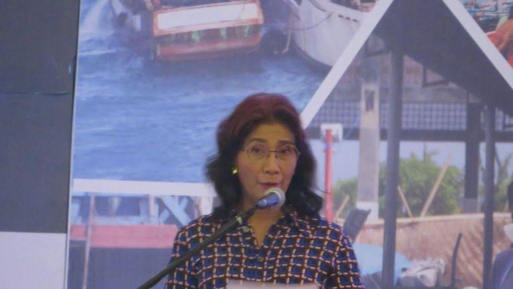 Tutup Rakornas Satgas Illegal Fishing, Susi: Banyak PR Belum Selesai