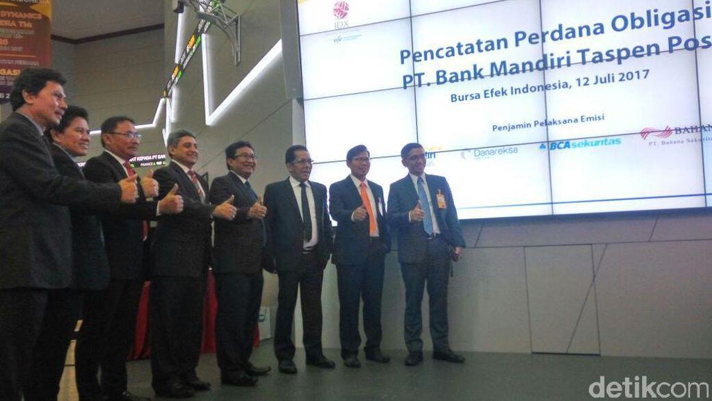 Bank Mantap Tawarkan Obligasi Rp 2 Triliun Berbunga Hingga 8,75%