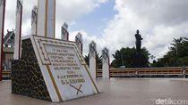 Di Sini Sukarno Tancapkan Tiang Simbol Pembangunan Palangka Raya