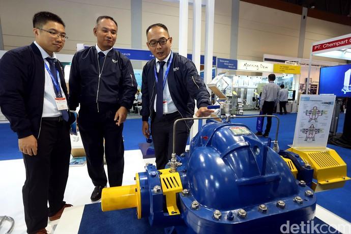 Melihat Indo Water Expo 2017 di JCC