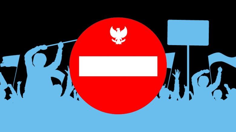 6 Fraksi di DPR Dukung Perppu Ormas, PKS-Gerindra-PD-PAN Mengkritik