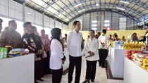 Presiden Jokowi Resmikan Pasar Maros Baru