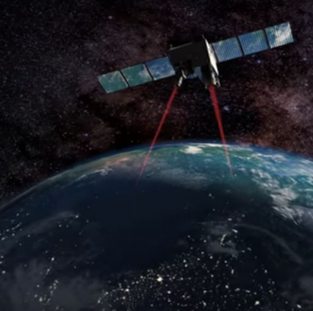 China Punya Ide Basmi Sampah Antariksa Pakai Laser