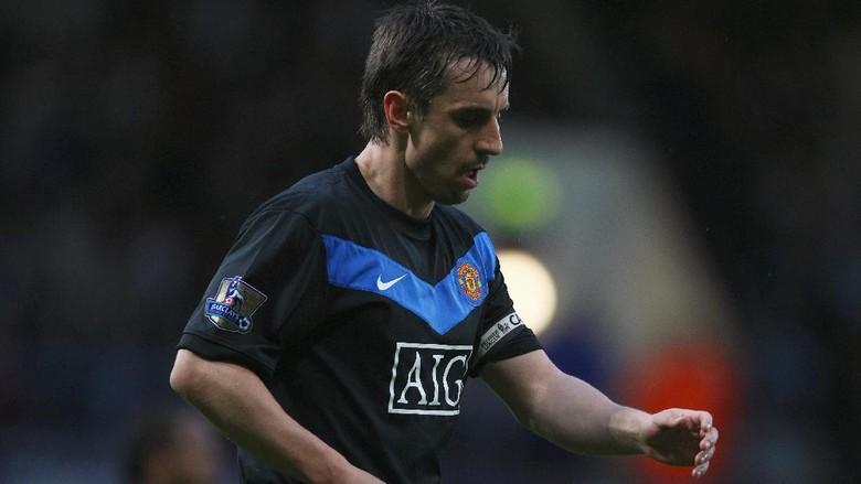 Gary Neville legenda Manchester United (Getty Images/Richard Heathcote)