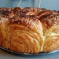 Roti yang jadi sajian khas pernikahan di Bulgaria.