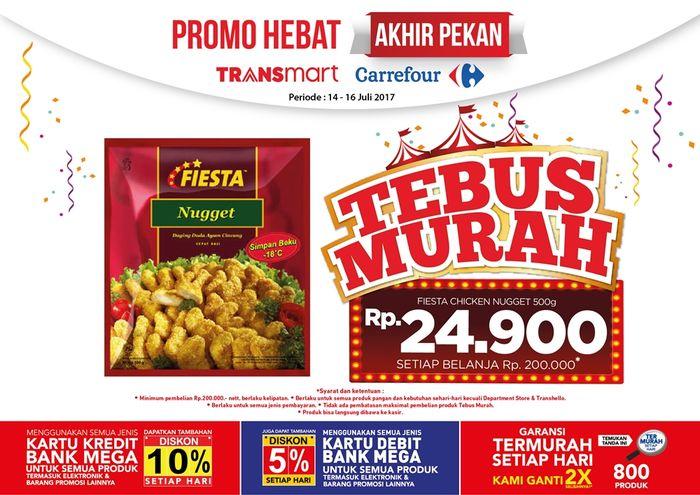 Tebus Murah Fiesta Nugget di Transmart Carrefour (Foto: Dok. Transmart Carrefour)