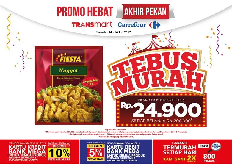 Tebus Murah Fiesta Nugget di Promo Akhir Pekan Transmart Carrefour