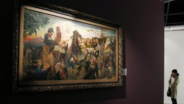 Lukisan S.Sudjojono Pecahkan Rekor Termahal, Apa Rahasianya?