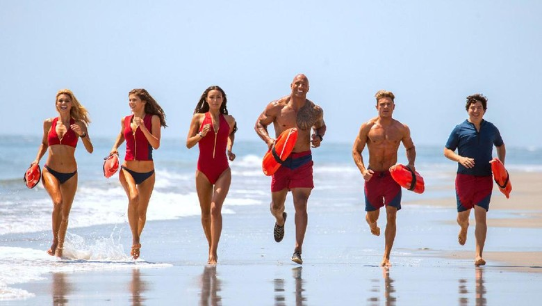 Baywatch Film Action-Comedy Berating R