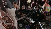 Polisi Sita 4 Motor Bodong Saat Bubarkan Balap Liar di Sunter