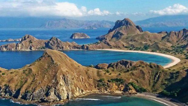 Pulau Padar di Labuan Bajo