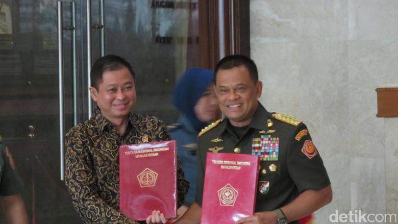 Amankan Eksplorasi Migas Hingga BBM Satu Harga, Jonan Gandeng TNI