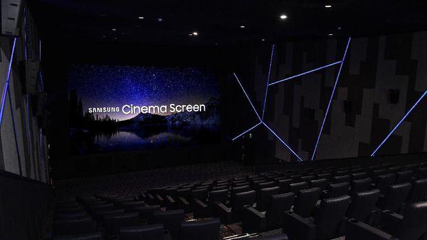 Bioskop Ini Pakai LED Samsung Sebagai Layarnya