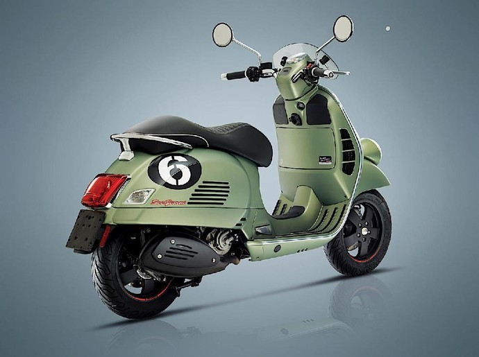 Vespa New Special Edition Disapa Six Days