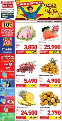 Promo produk segar di Transmart Carrefour