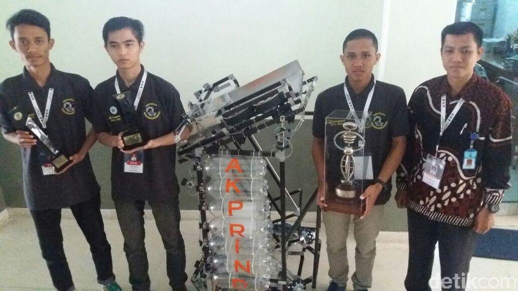 Robot Karya Mahasiswa IST AKPRIND Yogya Jadi Wakil RI di Jepang