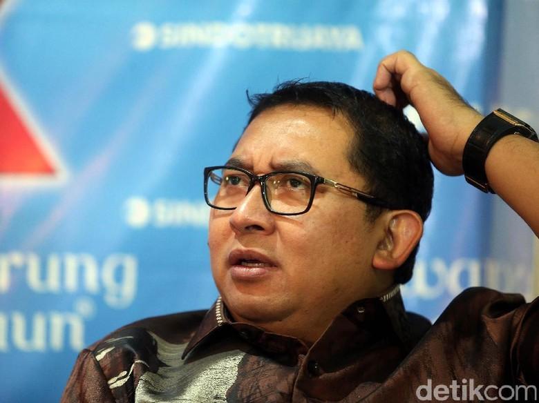 Fadli Zon: Arief Poyuono Sudah Ditegur Keras Gerindra