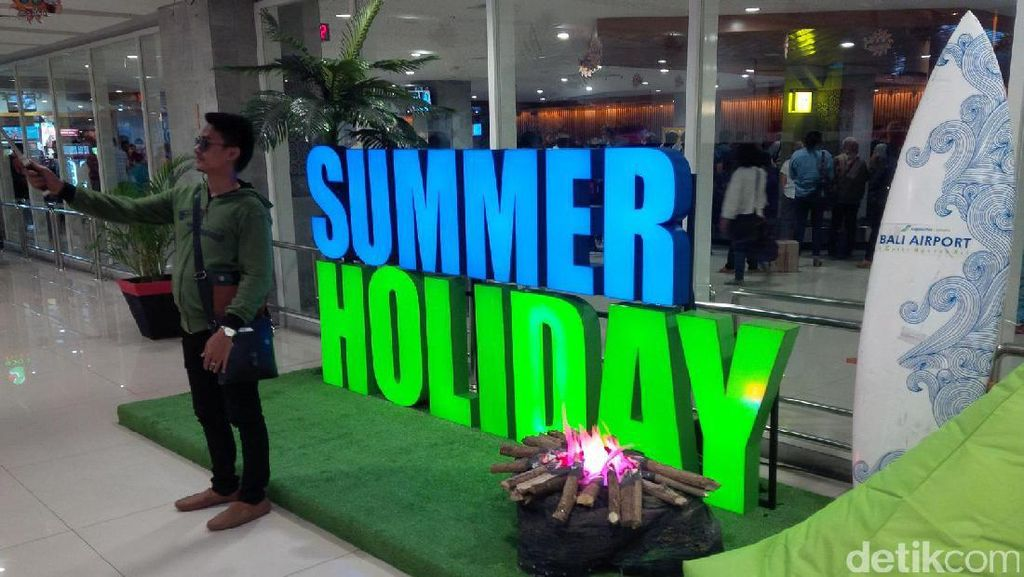 Summer Holiday, Bandara Ngurah Rai Bali Siapkan Banyak Atraksi
