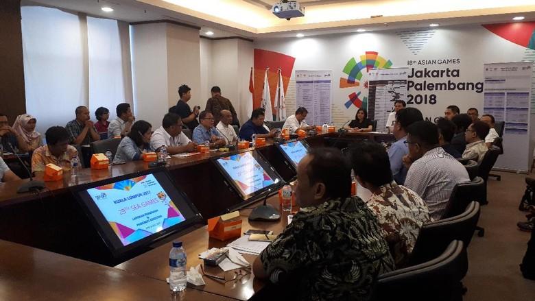 Jelang SEA Games, CdM: Tinggal Urusan Administrasi dan Kontrol Persiapan Akhir