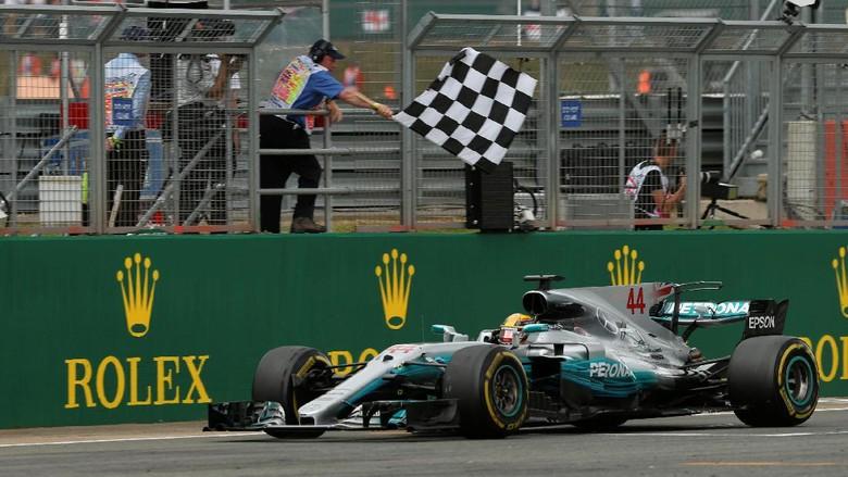 Hasil F1 GP Inggris 2017