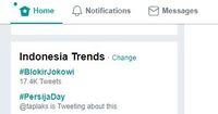 Gara-gara Telegram, #BlokirJokowi Menggema di Twitter