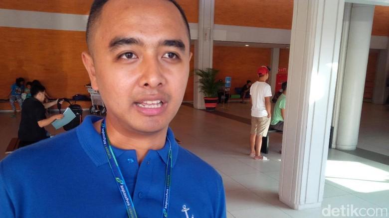 Kepala Humas Bandara Ngurah Rai Arie Ahsanurrohim (David/detikTravel)