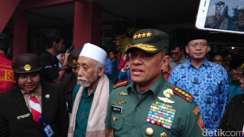 Panglima TNI: Jangan Ikuti Ulama yang Ingin Ubah Pancasila