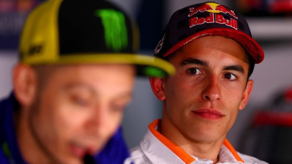 Marquez Pelajari Rossi, lalu Mengalahkannya