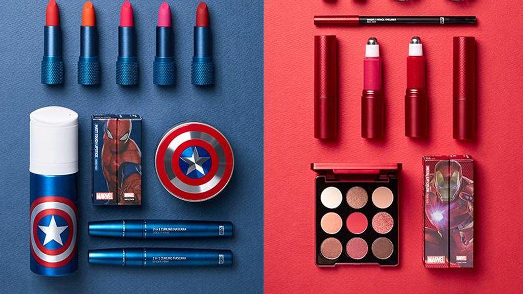 Khusus Fans Marvel, Ini Kosmetik Bertema Spider-Man Hingga Captain America