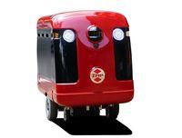 Robot pengantar sushi.
