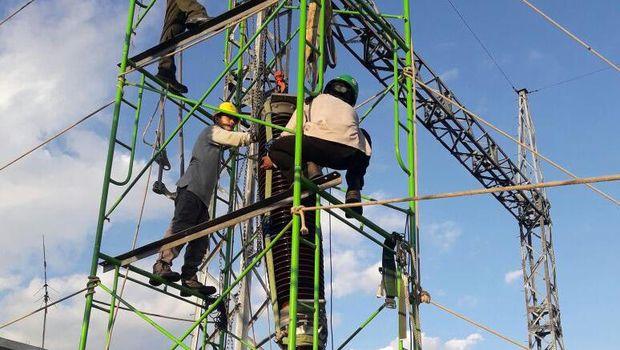 Pasokan listrik ke Palangka Raya