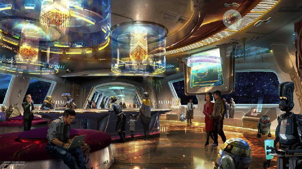 Keren! Akan Hadir Hotel Bertema Star Wars di AS