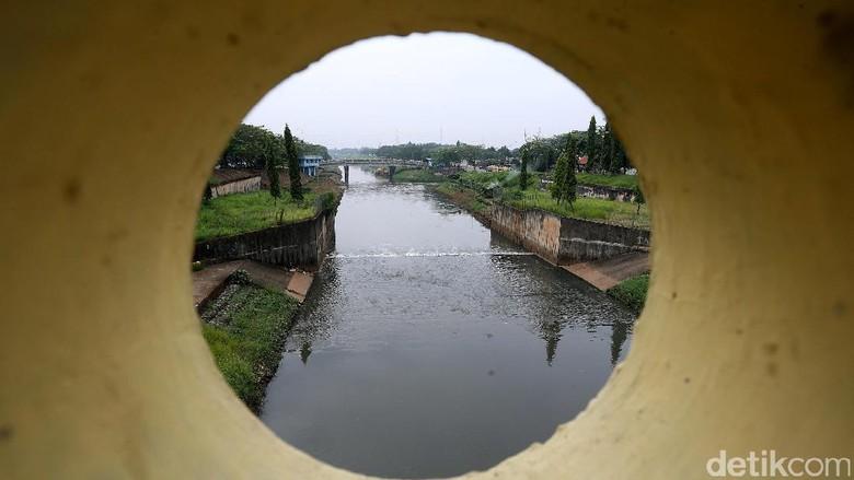 Wajah Kanal Banjir Timur Kini Makin Rapi