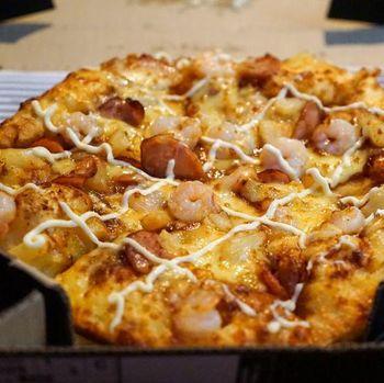 Manfaat kotak untuk pizza.