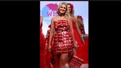 Finalis Ratu Kecantikan Ini Pakai Gaun dari Kaleng Coca-Cola, Unik Banget!